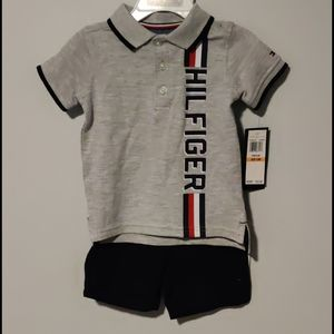Tommy Hilfiger boys Polo and shorts set